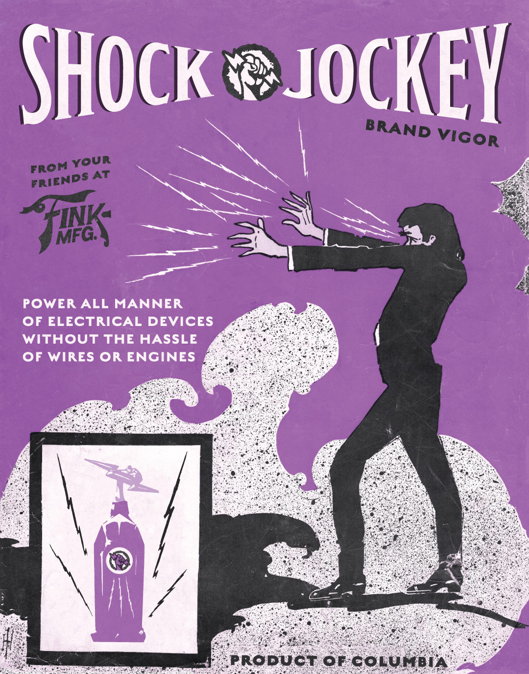 Shock Jockey Poster